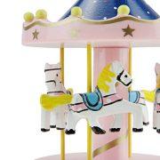 Bao-Core-Boite--Musique-Cheval-Virevoltant-en-Bois-Dcoration-Maison-Ouvrage-Cadeau-Cratif-Manuel-Dessin-Color-Romantique-Populaire-Multi-dessins-0-1