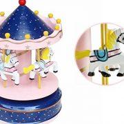 Bao-Core-Boite--Musique-Cheval-Virevoltant-en-Bois-Dcoration-Maison-Ouvrage-Cadeau-Cratif-Manuel-Dessin-Color-Romantique-Populaire-Multi-dessins-0