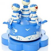Mousehouse-Gifts-Bote--musique-enfants-bb-garon-bleu-pirate-0-0