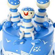 Mousehouse-Gifts-Bote--musique-enfants-bb-garon-bleu-pirate-0-1