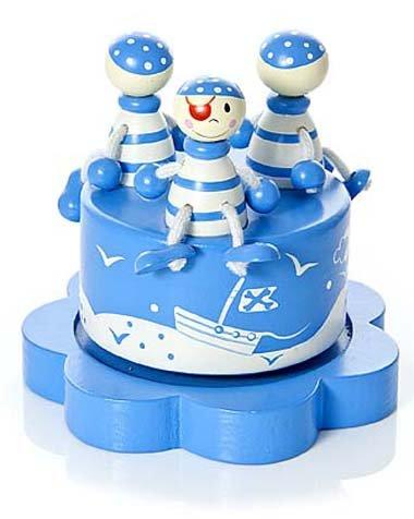 Mousehouse-Gifts-Bote–musique-enfants-bb-garon-bleu-pirate-0