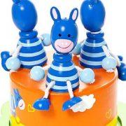 Mousehouse-Gifts-Bote--musique-enfants-bb-garons-et-filles-safari-animal-zbre-bleu-0-0
