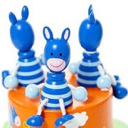 Mousehouse-Gifts-Bote--musique-enfants-bb-garons-et-filles-safari-animal-zbre-bleu-0-1
