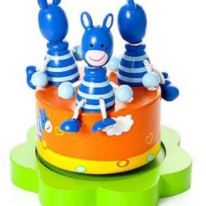 Mousehouse-Gifts-Bote--musique-enfants-bb-garons-et-filles-safari-animal-zbre-bleu-0