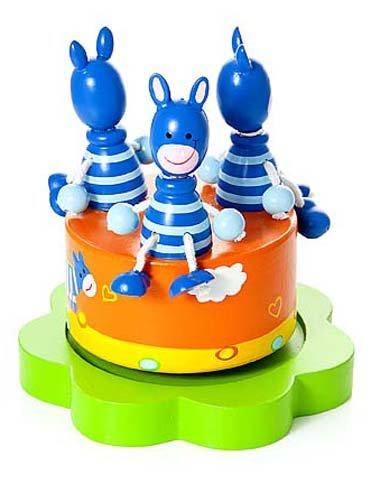 Mousehouse-Gifts-Bote–musique-enfants-bb-garons-et-filles-safari-animal-zbre-bleu-0