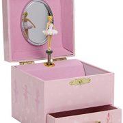 Trousselier-Ballerine-Petit-Coffret-Musical-Chaussons-de-Danse-Rose-0