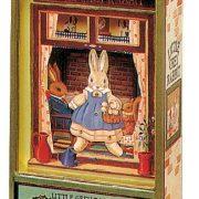 Trousselier-Little-Grey-Rabbit-Collector-Boite--Musique-Dancing-Vert-0