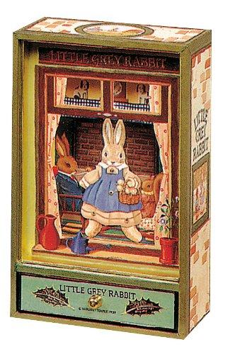 Trousselier-Little-Grey-Rabbit-Collector-Boite–Musique-Dancing-Vert-0