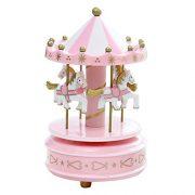 Symboat-Bote--musique-cheval-de-carrousel-romantique-jouet-botes--musique-carrousel-en-bois-artistique-Jouet-Enfant-Kids-Toys-0
