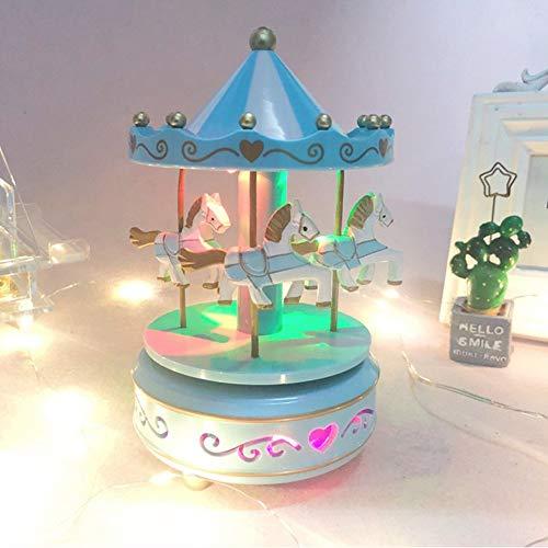 Bote–Musique-de-Cheval-de-Carrousel-Classique-Botes–Musique-en-Bois-Jouets-Cadeau-Enfant-Fille-Cadeau-Nol-Anniversaire-Mariage-Bote–Musique-Veilleuse-Music-Box-Dcorations-0